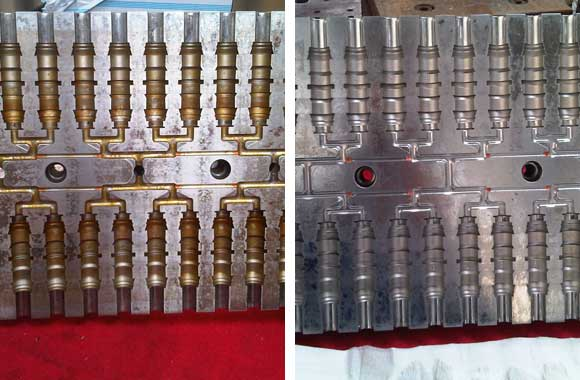 mantenimiento de molde de inyección