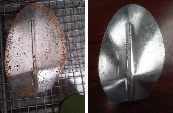 molde de aluminio calzado