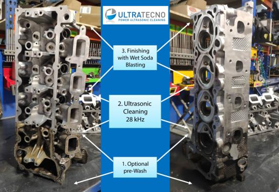 Bloques de motor y limpieza de culatas en Ultratecno