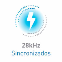 28kHz sincronizados
